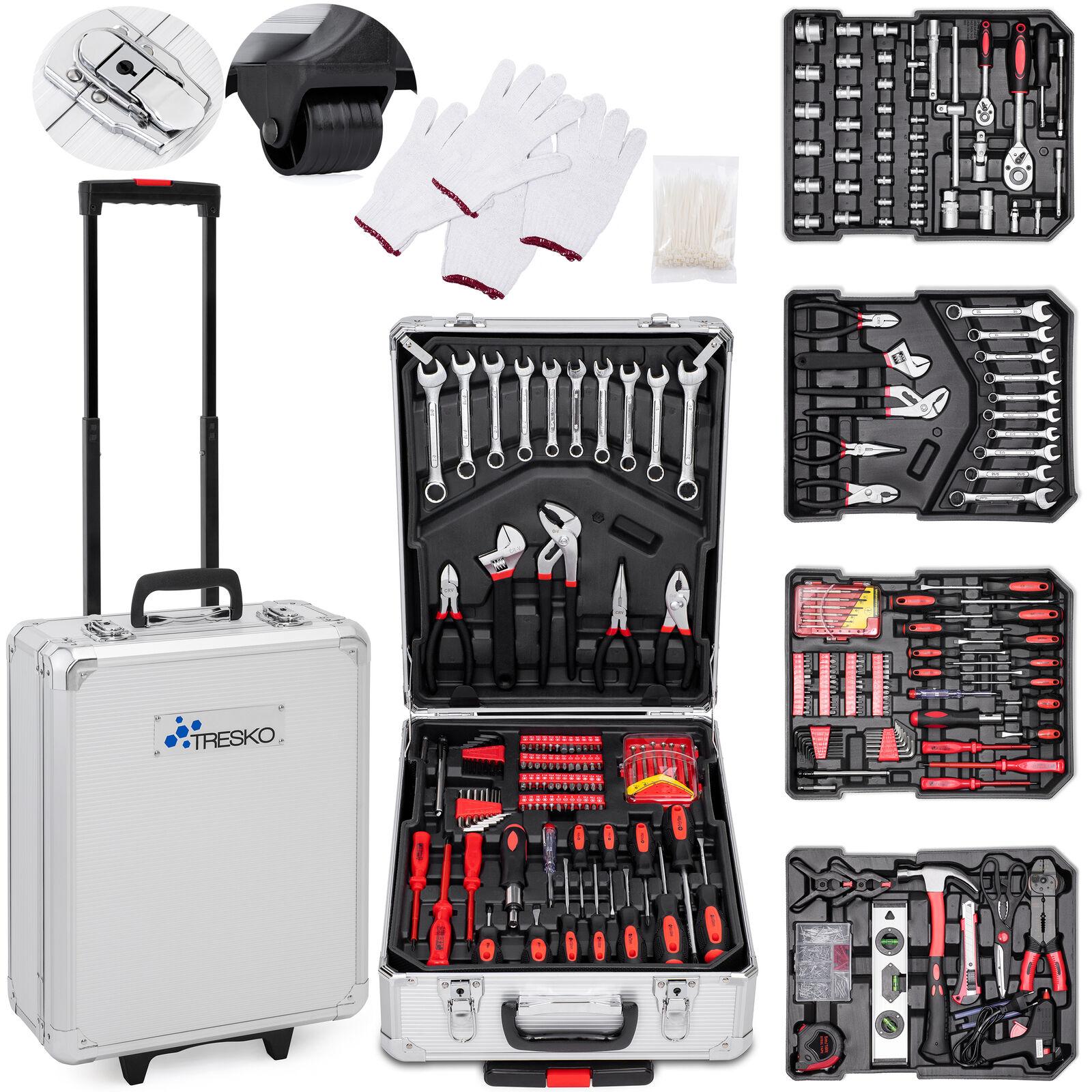 Set profesionalnega orodja in pripomočkov v ALU