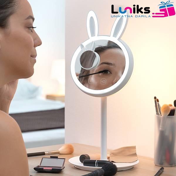 2-v-1 LED zrcalna svetilka zajček