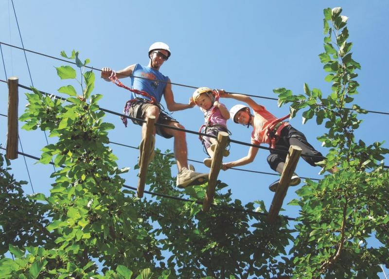 Glavani park - Vstopnica za adrenalinski park,