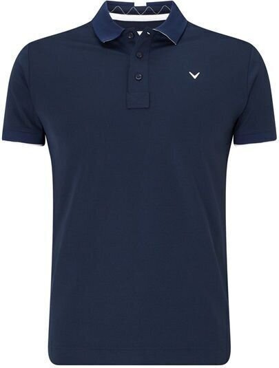 Callaway Solid Polo with Collar Tipping...
