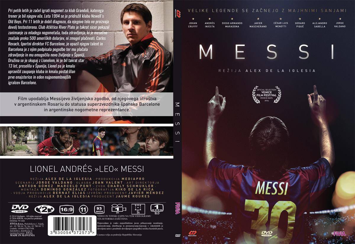 MESSI - DVD SL.POD.