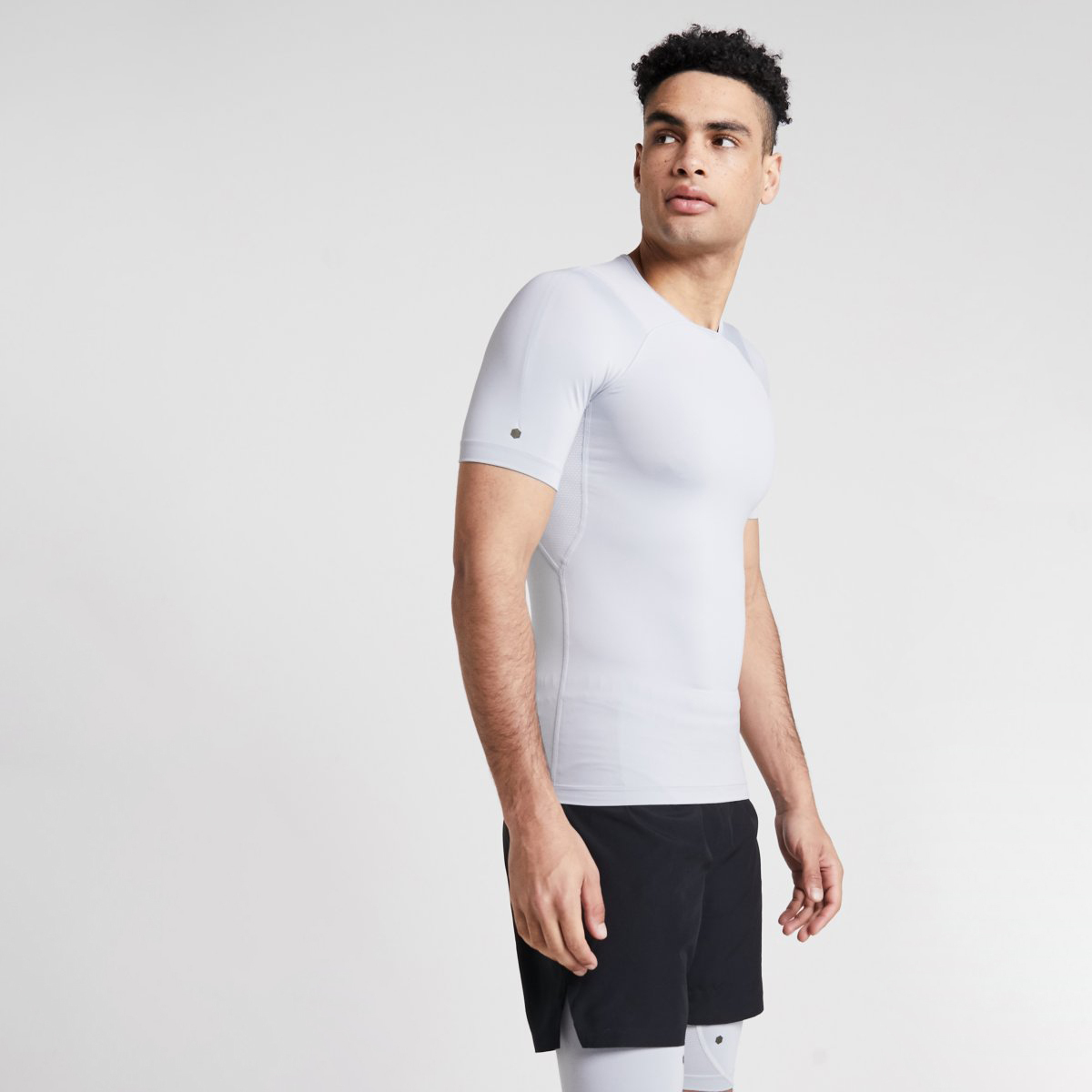 Under Armour Rush Compression Tee Grey